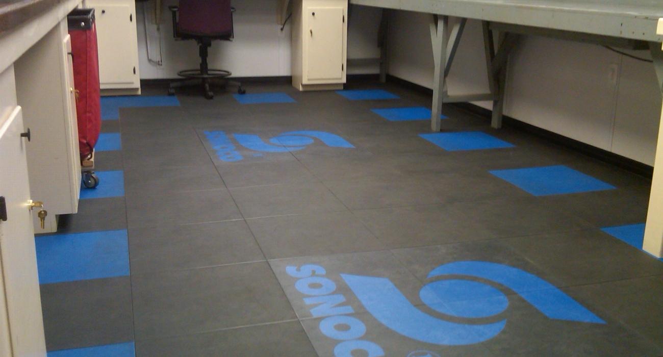 dalles de sol personalisées