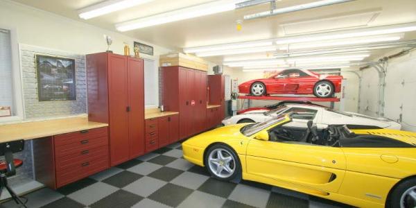 dalles de sol pour garage