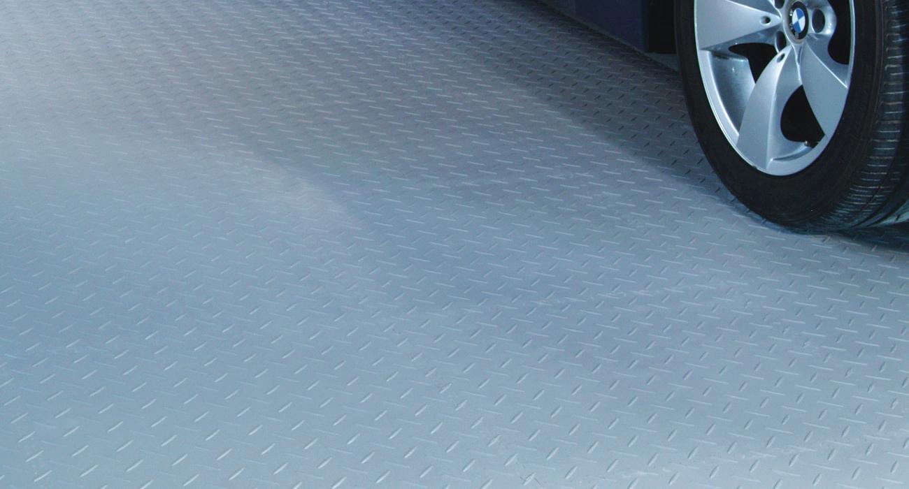 dalles de sol de garage