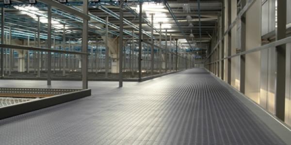 dalles de sol industriel