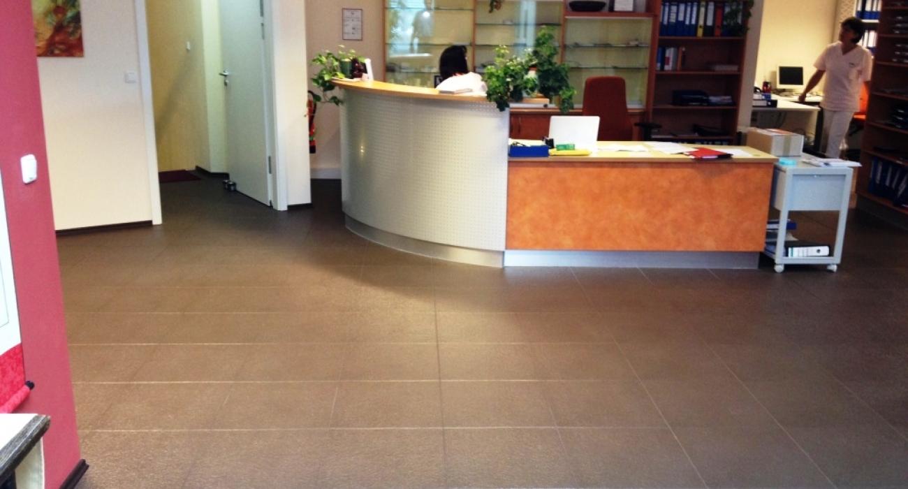 dalles de sol pour bureaux