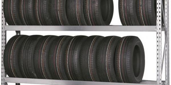 Rayonnage à pneus