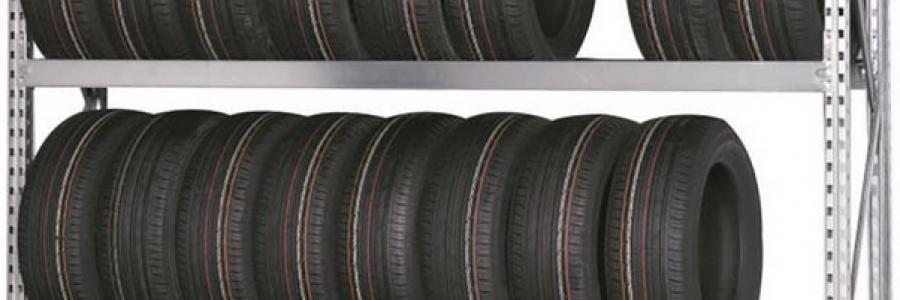 Rayonnage de pneu