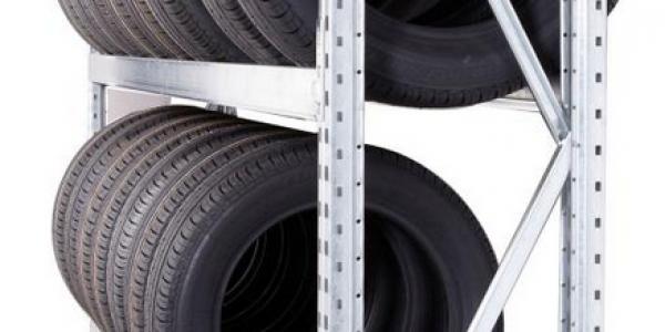 Rayonnage a pneus