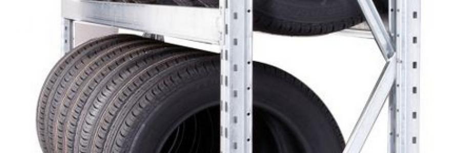Rayonnage stockage de pneu